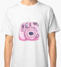 Pink instax camera Classic T-Shirt