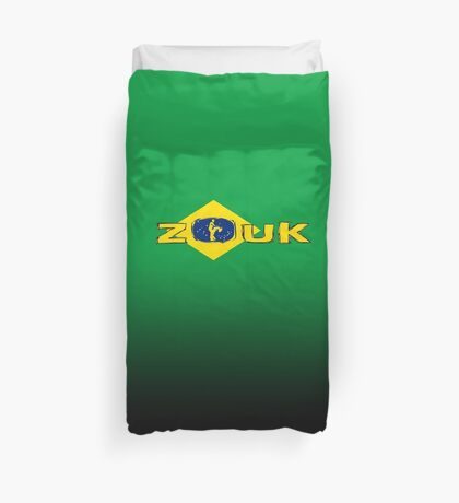 lets dance zouk Duvet Cover