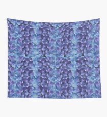 Hydrangea Blossom Clusters Wall Tapestry