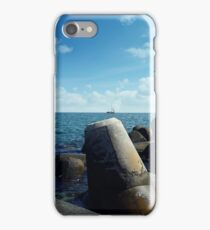 black sea iPhone Case/Skin