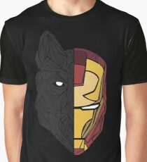 Game Of Thrones / Iron Man: Stark Family Graphic T-Shirt