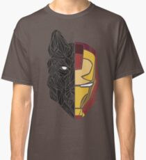 Game Of Thrones / Iron Man: Stark Family Classic T-Shirt