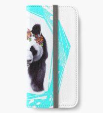 Giant panda iPhone Wallet/Case/Skin