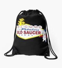 Fabulous Gold Saucer Alternate Drawstring Bag