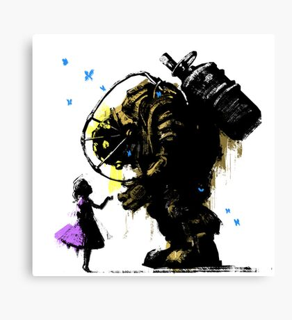 I'll Always Protect You Canvas Print