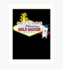 Fabulous Gold Saucer Alternate Art Print