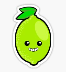 Blimey it's a Lime! Sticker