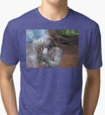 Making Fire Tri-blend T-Shirt