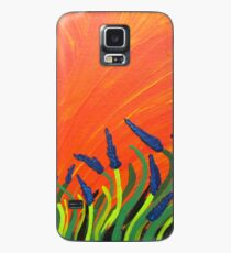 red sky lavender Case/Skin for Samsung Galaxy
