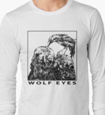Wolf Eyes Burned Mind Long Sleeve T-Shirt