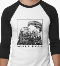 Wolf Eyes Burned Mind Men's Baseball ¾ T-Shirt