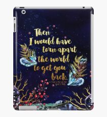 ACOMAF - Torn Apart The World iPad Case/Skin