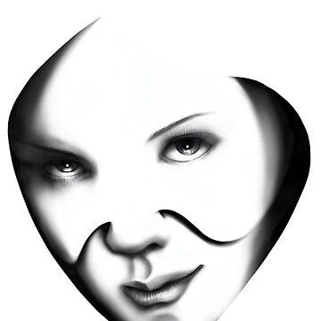 Hannya Mask by marginalspirit