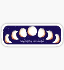 Infinity Moon Phases Sticker