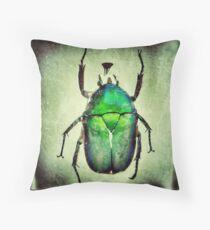 Pretty Bug Throw Pillow