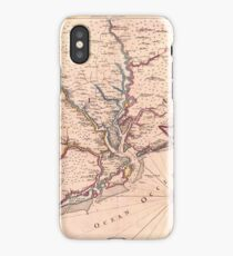 Vintage Map of South Carolina (1690) iPhone Case