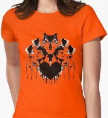 inkblot Womens Fitted T-Shirt
