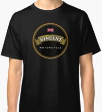 Vincent Vintage Motorcycles England Classic T-Shirt