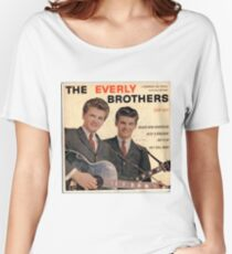 The Everly Brothers 1958 Rockabilly ep cover Women's Relaxed Fit T-Shirt