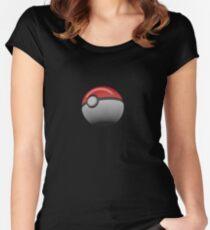 Pokemon Ball/pokeball Women's Fitted Scoop T-Shirt