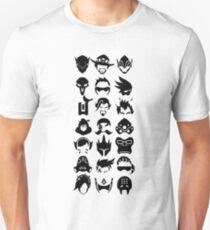 Heroes - White Unisex T-Shirt