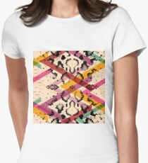 Colourful Snake Skin Texture T-Shirt