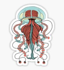 Space Jellyfish (Dr Seuss Inspired) Sticker
