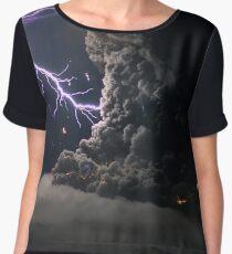 Cat Lightning  Women's Chiffon Top