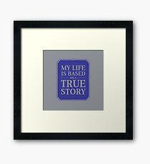 My life Framed Print