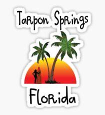 Tarpon Springs Florida. Sticker