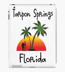 Tarpon Springs Florida. iPad Case/Skin