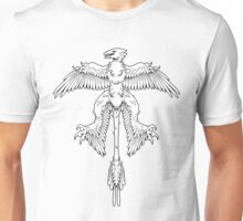 Microraptor - The Tiny Plunderer - Textless Version Unisex T-Shirt