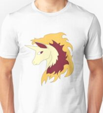 Abstract Rapidash Pokemon Unisex T-Shirt