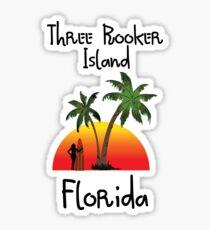 Three Rooker Island Florida. Sticker