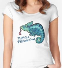 Reptile Dysfunction Women's Fitted Scoop T-Shirt