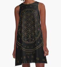 Shadow | Higher Dimensional Spirit Board (Ouija)  A-Line Dress