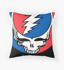 Redskins Grateful Dead Throw Pillow