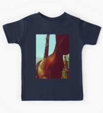 Horse at the Zoo Kids Tee