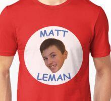 Collectable Matt Leman Merch. Unisex T-Shirt
