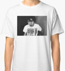 Ezra Miller Black and White Classic T-Shirt