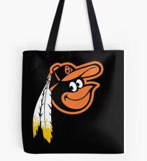 Redskins Orioles Tote Bag