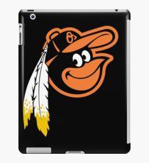 Redskins Orioles iPad Case/Skin