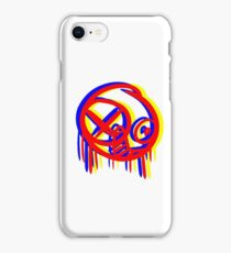 Single-eyed Surreal Stare iPhone Case/Skin