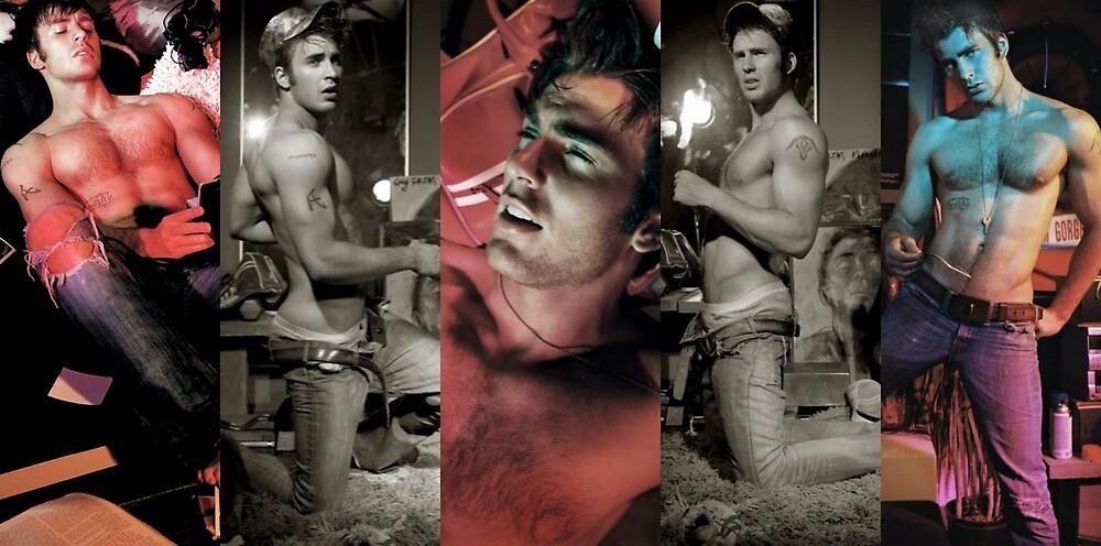 Naked Chris Evans! by carmichaelleah