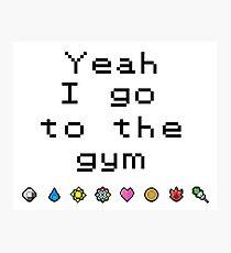 Pokemon gym- Kanto Photographic Print