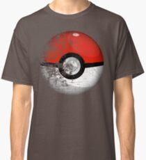 Destroyed Pokemon Go Team Red Pokeball Classic T-Shirt