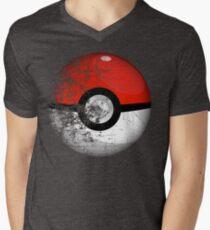 Destroyed Pokemon Go Team Red Pokeball T-Shirt