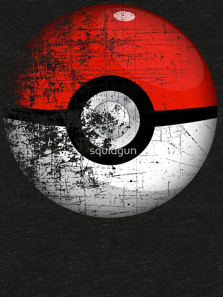 Destroyed Pokemon Go Team Red Pokeball by squidgun