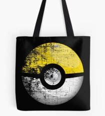 Destroyed Pokemon Go Team Yellow Pokeball Tote Bag