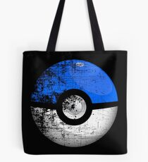 Destroyed Pokemon Go Team Blue Pokeball Tote Bag